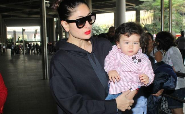 Kareena Kapoor And Taimur Are Back From Swiss Vacation See Pics At Airport