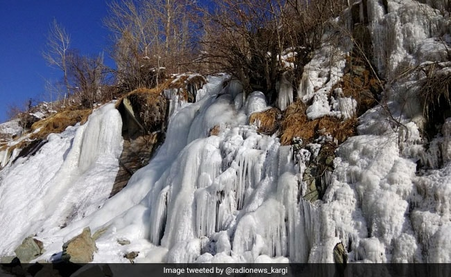 Kargil Coldest In Jammu And Kashmir At Minus 20 Degrees, Leh At Minus 10