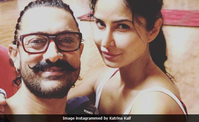 A Glimpse Of Katrina Kaif And Aamir Khan's Thug Life