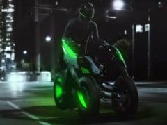 Kawasaki Teases Three-Wheeler Concept