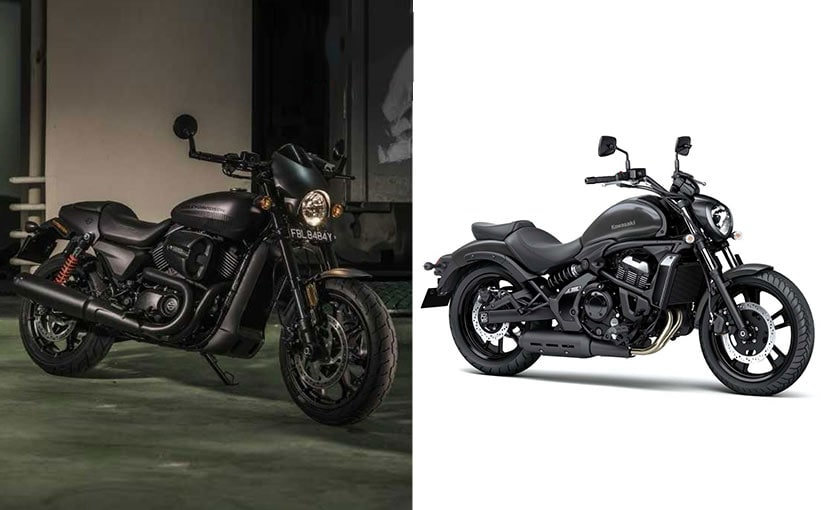 Here is our on-paper comparison of the Kawasaki Vulcan S and H-D Street Rod 750