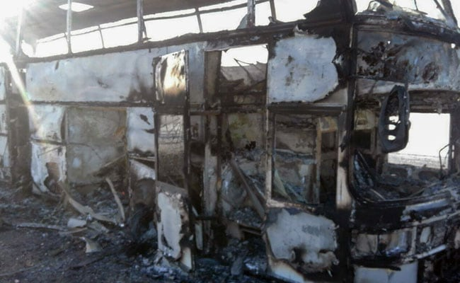 Bus Catches Fire In Kazakhstan, Killing 52 Uzbeks: Kazakh Interior Ministry
