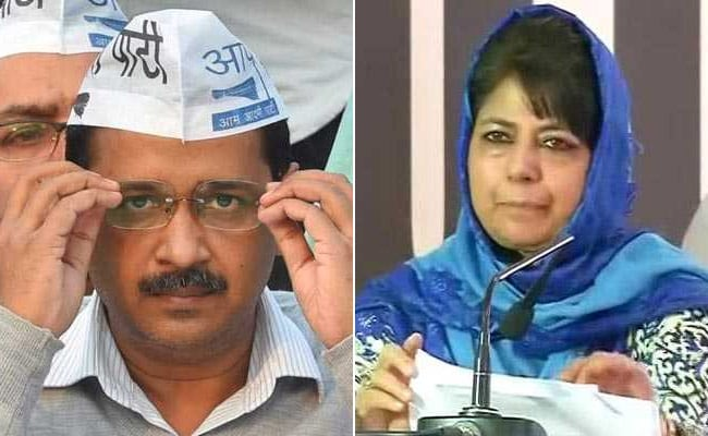 Mehbooba Mufti Speaks To Arvind Kejriwal About Attack On Group Of Kashmiris