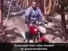 Anand Mahindra, Fan Of 'Jugaad', Tweets Video Of Nifty 'Kela-Konveyor'