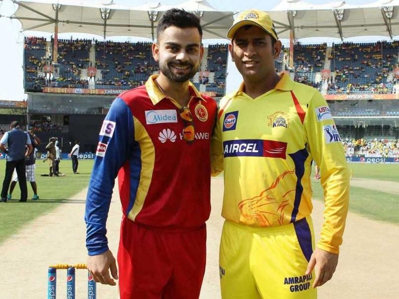 Image result for Virat Kohli - MS Dhoni IPL 2018