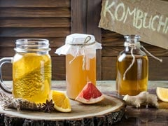 Kombucha: A Probiotic Super Drink That Is Healthful As Well As Delicious