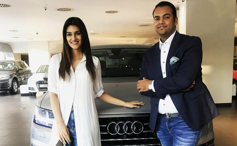 Bollywood actress Kriti Sanon is now a proud owner of a brand new Audi Q7 SUV