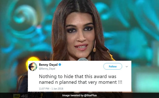 Shahid Kapoor, Kriti Sanon Receive 'Nothing To Hide' Award. Twitter Goes ROFL