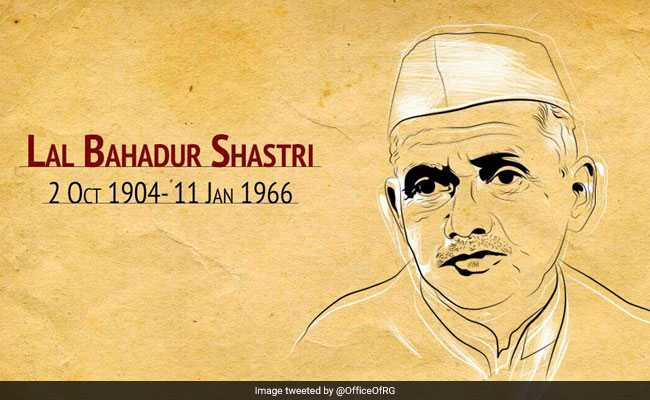 Lal Bhadur Shastri's Death Anniversary: Leaders Pay Tribute To India's Second Prime Minister On Twitter