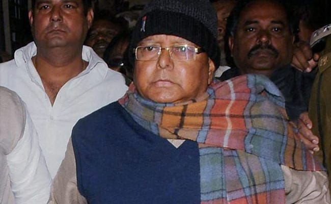 Am Trained Lawyer, Lalu Yadav Told Ranchi Judge. He Got Some Advice