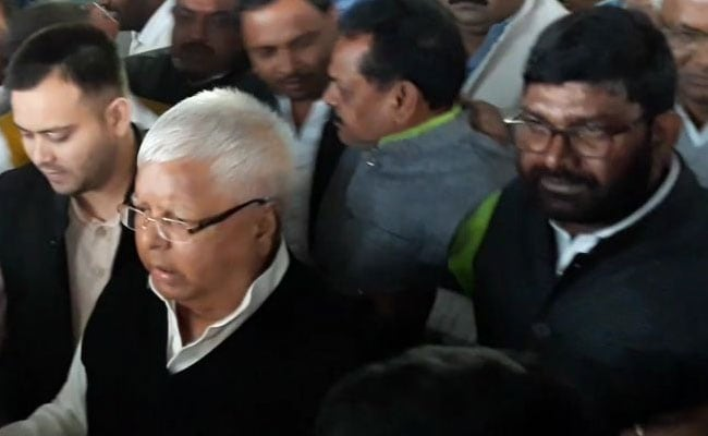 Fodder Scam: Verdict In Third Case Involving Lalu Yadav Tomorrow
