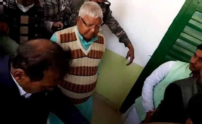 Verdict In Another Fodder Scam Case Against Lalu Yadav Today