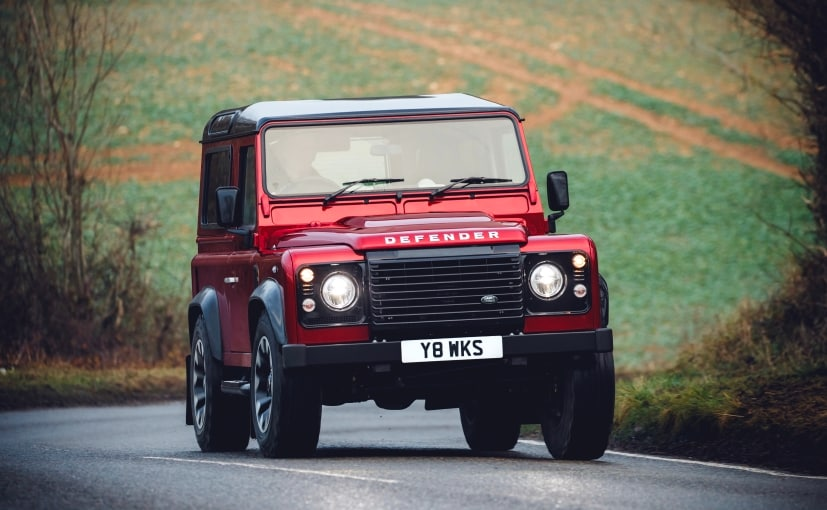 Limited Edition Land Rover Defender Works V8 Revealed