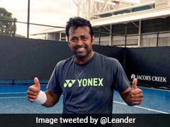 ATP Challenger: Leander Paes Wins Doubles Title At Newport Beach