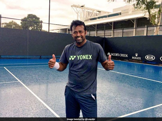 World Record Beacons Leander Paes In Davis Cup Tie Against China