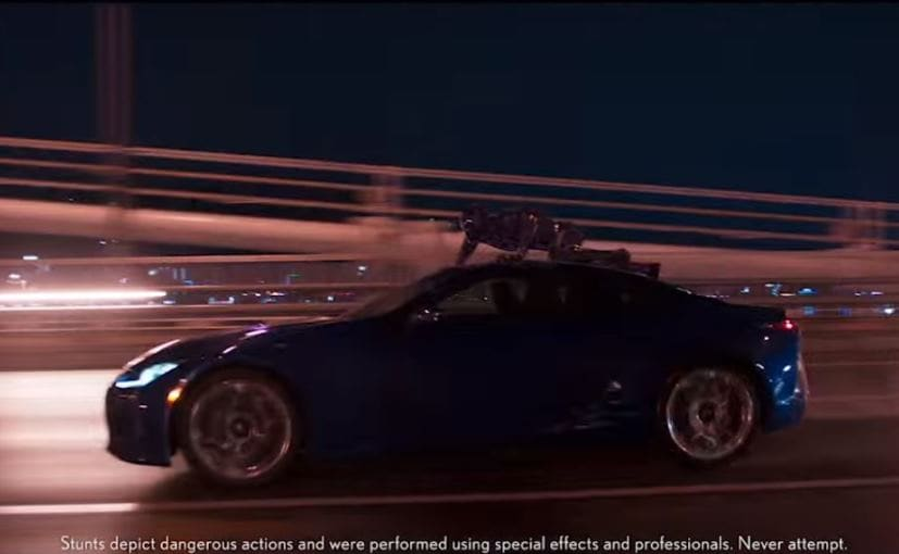Lexus LC 500 Makes A Cameo In Marvelu0027s Upcoming Black Panther Movie