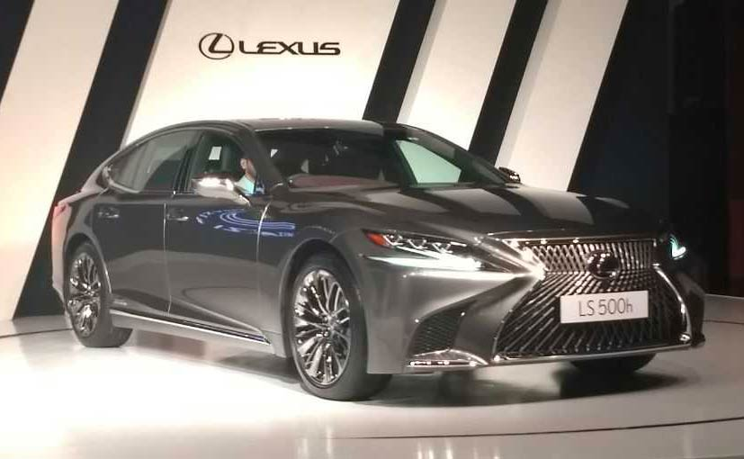 lexus ls 500h launched in india prices start from rs crore ndtv carandbike. Black Bedroom Furniture Sets. Home Design Ideas