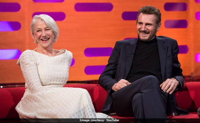 After 34 Years, Liam Neeson And Helen Mirren Admit To Their 'Relationship.' Watch Video