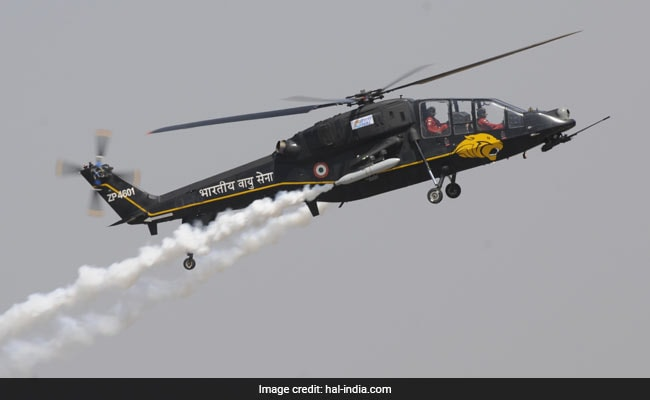 Light Combat Helicopter Flies With Home-Made Controls For The First Time