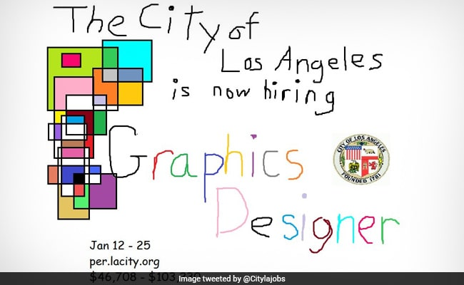Viral Los Angeles City Posts Hilarious Job Ad For Graphic Designer