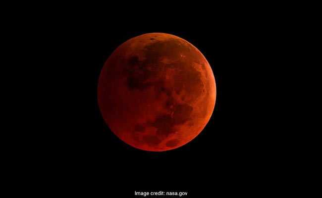 lunar eclipse supermoon nasa