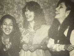 Madhuri Dixit And Umm... Brownie Points If You Recognise The Other Two Actresses