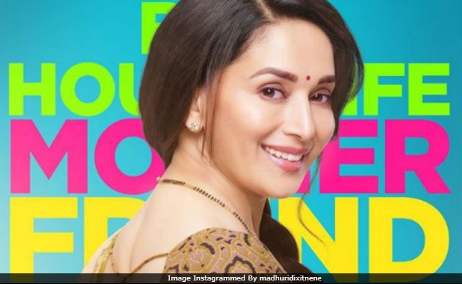 Trending: Madhuri Dixit's First Look From Marathi Debut Bucket List