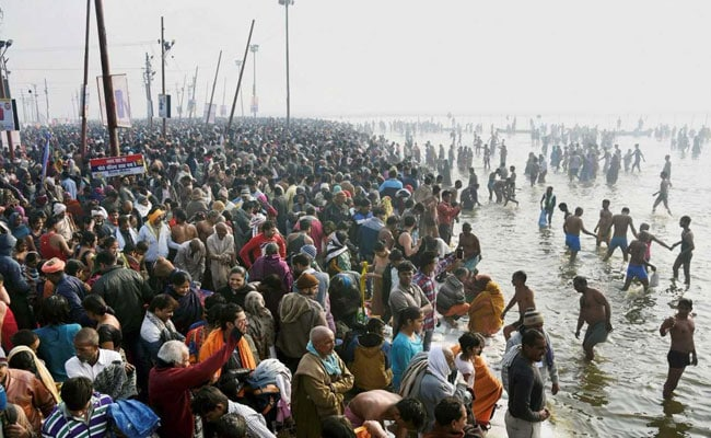 Makar Sankranti: Over 20 Lakh Devotees Take Holy Dip In River Ganga