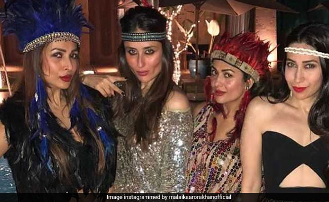 Amrita Arora's birthday bash with a full swing