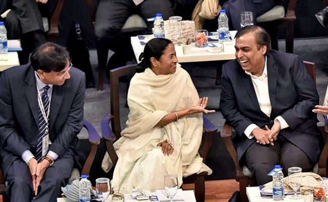 Mukesh Ambani Says Will Invest Rs 5,000 Crore In 'Best Bengal'