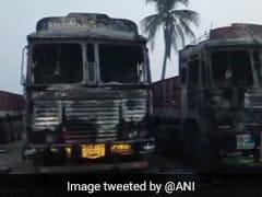 Maoists Kill 1 In Telangana, Set Vehicles On Fire In Chhattisgarh