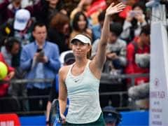 Shenzhen Open: Simon Halep, Maria Sharapova Off To Flying Start