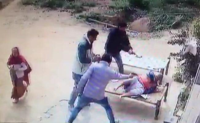 Mother, son killed in Meerut; murder caught on CCTV