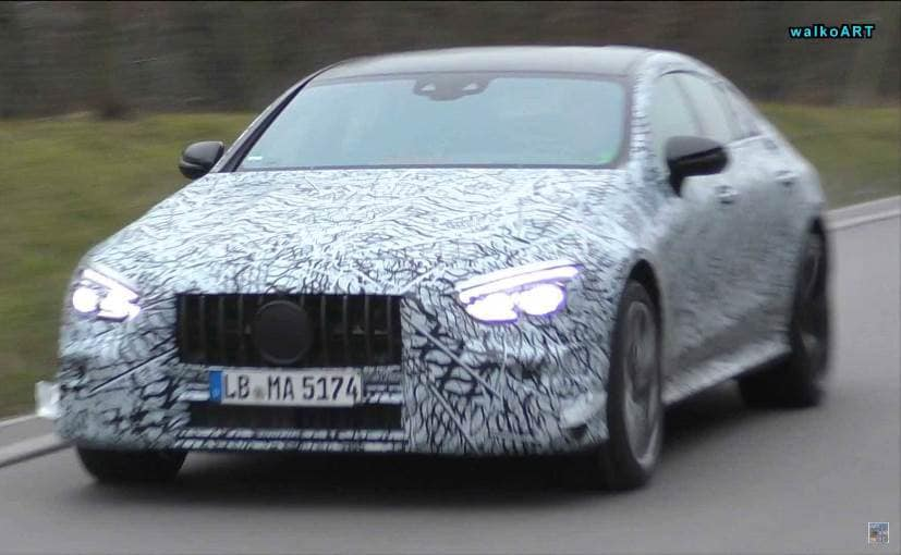 Mercedes-AMG GT four-door sedan will borrow it's styling cues from the AMG GT series