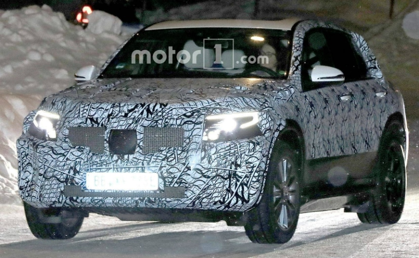Mercedes benz eq c electric suv caught testing for Different models of mercedes benz