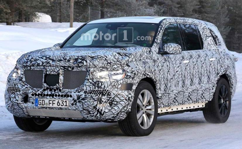 2019 Mercedes Benz Gls Class Spied Again Ndtv Carandbike