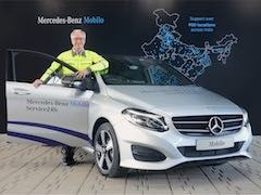 Mercedes-Benz India Launches Mobilo Assistance Service For Customers