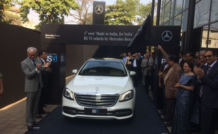 The new Mercedes-Benz S-Class is the first 'Made in India, for India' BS-VI vehicle