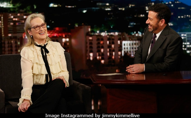 Golden Globes 2018: What Meryl Streep Told Jimmy Kimmel After Mariah Carey 'Stole' Her Seat