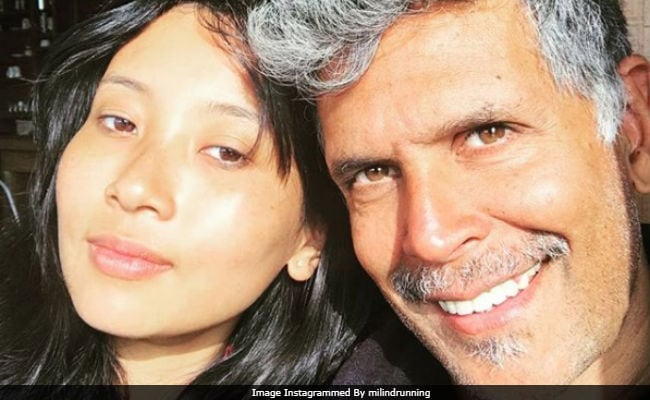 Milind Soman And Girlfriend Ankita Konwar In A Sun-Kissed Pic. Seen Yet?