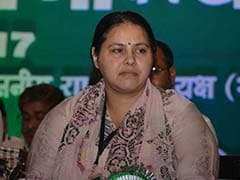 Misa Bharti Not Among RJD Campaigners For Lok Sabha Elections