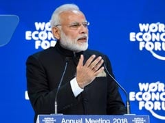 LIVE Updates Of PM Modi's Speech At The World Economic Forum In Davos