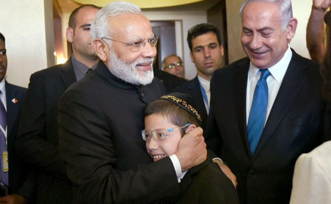 """""""Shalom And Namaste From India"""": PM To 26/11 Survivor Moshe On Turning 13"""