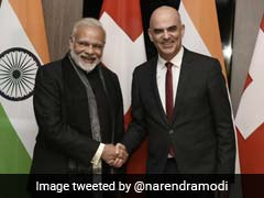 In Davos For Economic Forum, PM Modi Meets Swiss President: 10 Points