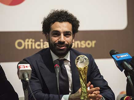 Liverpool Star Mohamed Salah Named African Player Of The Year