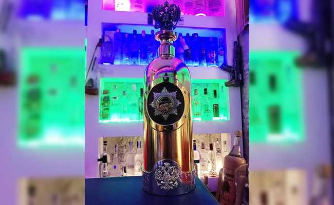 'World's Most Expensive Vodka' Bottle Found After Danish Bar Theft