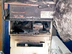 Thieves Try To Cut Into ATM Machine In Mumbai; Burn The Money Instead