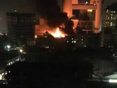 Massive Fire At Mumbai's Cinevista Studio Brought Under Control
