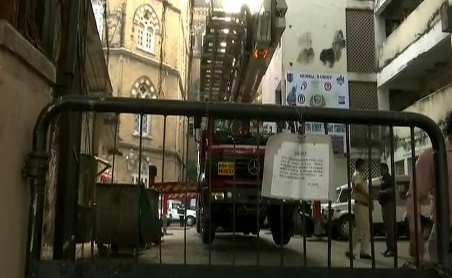 Major fire guts CineVista Studios in Mumbai, no casualties