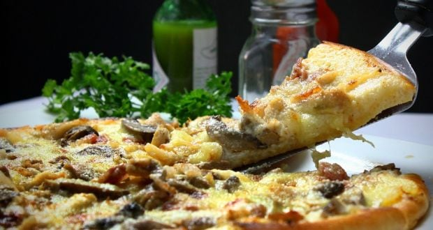 mushroom recipe pizza